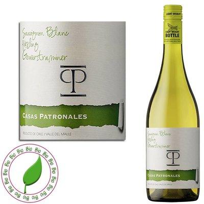Casas Patronales Trivarietal Sauvignon Blanc - Riesling - Gewürztraminer