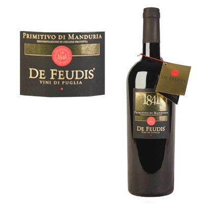 De Feudis 'Ottocento' Primitivo di Manduria