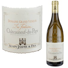 """Alain Jaume Grand Veneur Châteauneuf du Pape blanc """"La Fontaine"""" (BIO)"""