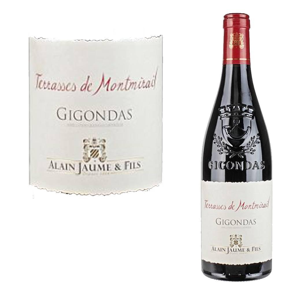 "Alain Jaume Gigondas rouge ""Terrasses de Montmirail"""