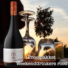 Proefpakket Weekend Drinkers rood