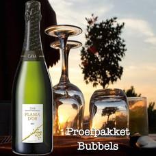 Proefpakket Bubbels 6 schuimwijnen