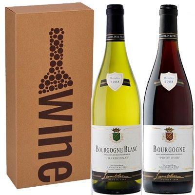 Bourgogne Chardonnay - Pinot Noir in geschenkverpakking