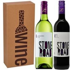 Geschenkduo Stone Road Sauvignon Blanc Merlot