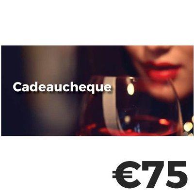 Cadeaucheque €75
