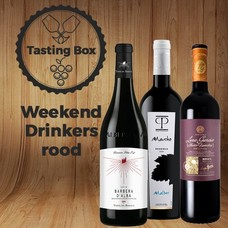 Tasting Box Weekend Drinkers rood