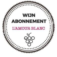 """Wijn abonnement  """"L'amour Blanc"""""""