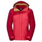 Jack Wolfskin Womens 3-in-1 Coat Red