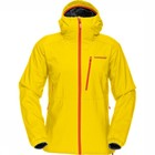 Ortlieb Womens Softshell Coat Yellow