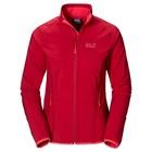 Jack Wolfskin Woman Windproof Jacket Red