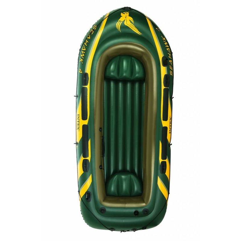 Intex Seahawk 4 - 4 persoons boot met peddels en pomp