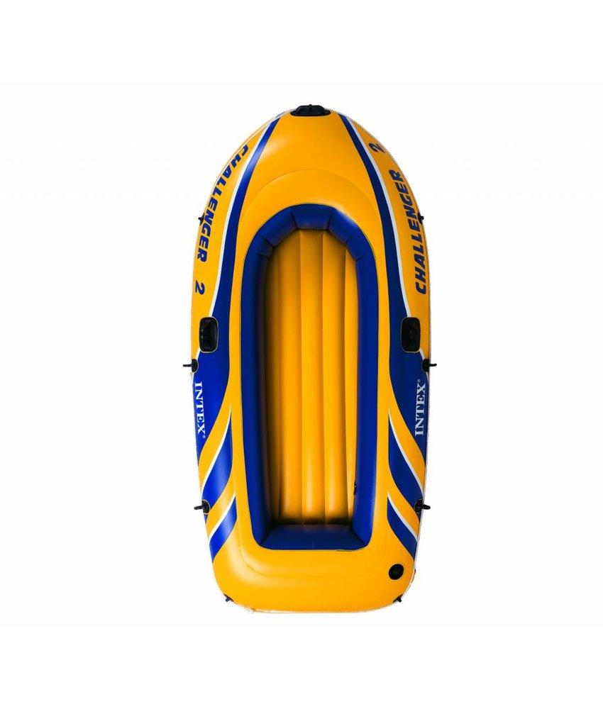 Intex Challenger 2 - 2 pers. boot met peddels en pomp