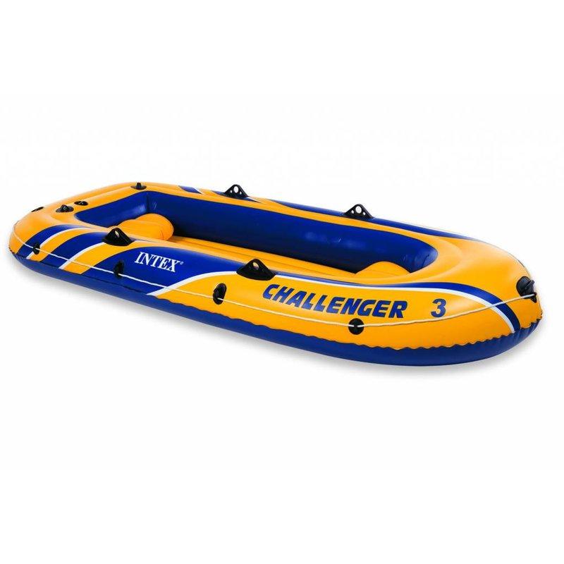 Intex Challenger 3 - 3 persoons boot met peddels en pomp