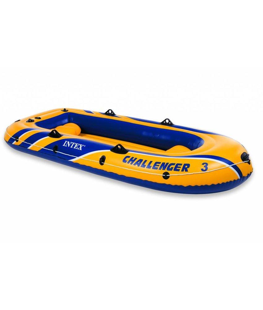 Intex Challenger 3 - 3 pers. boot met peddels en pomp