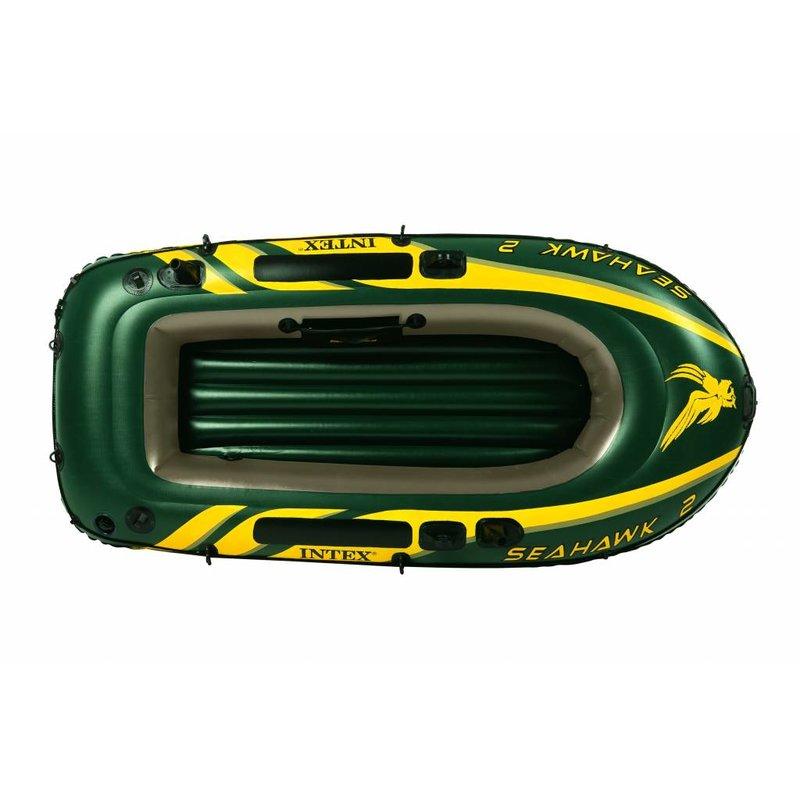 Intex Seahawk 2 - 2 persoons boot met peddels en pomp