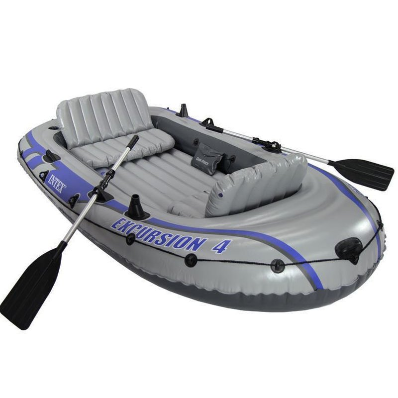 Intex Excursion 4 - 4 persoons boot met peddels en pomp