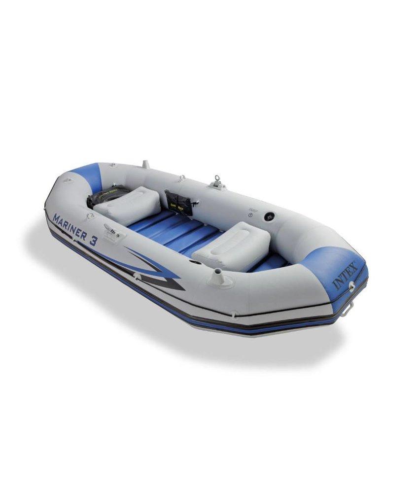 Intex Mariner 3 - 3 pers. luxe boot met peddels en pomp