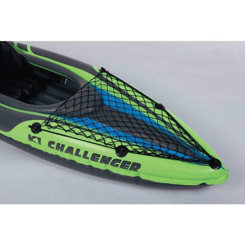 Intex Challenger K1 1 persoons kayak met peddel en pomp