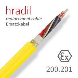 passend für IBAK Hradil Ersatzkabel passend für TV-MIDI-Systeme (KT/KW 180, KW 305) von IBAK
