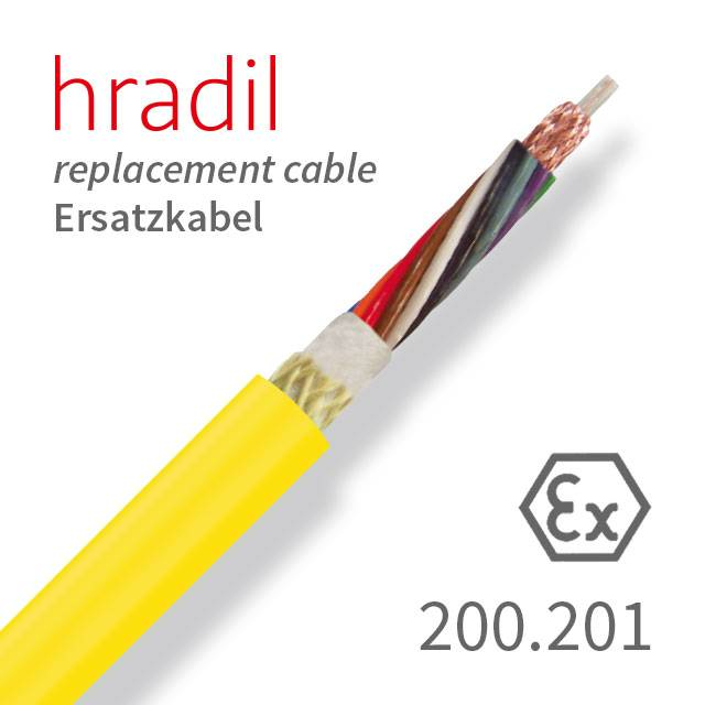 Hradil replacement cable suitable for TV-MIDI systems (KT / KW 180 ...