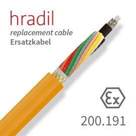 passend für IBAK Hradil replacement cable suitable for ARGUS 4, SIRIUS, TRITON from IBAK