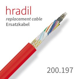 passend für iPEK Hradil replacement cable suitable for Rovver system from iPEK (extra thick sheath)