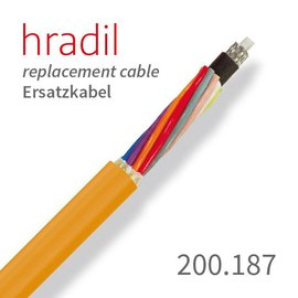 passend für Rausch Hradil Ersatzkabel passend für Satellitenanlagen (7,5er Kamerakabel) von Rausch