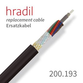 passend für RICO Hradil replacement cable suitable for multi-wire systems from RICO