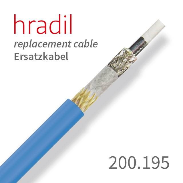 Hradil replacement cable suitable for single-wire-systems (∅ 6.5 mm ...