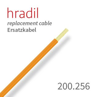 Hradil GFK push cable 3.5 mm, 3-pin
