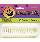 Vampiertanden plastic a18*