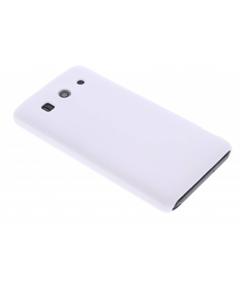 Wit effen hardcase hoesje Huawei Ascend G525