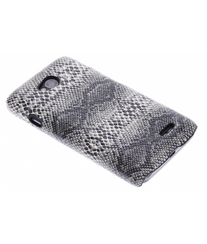 Zwart slangen design hardcase hoesje LG L70 / L65