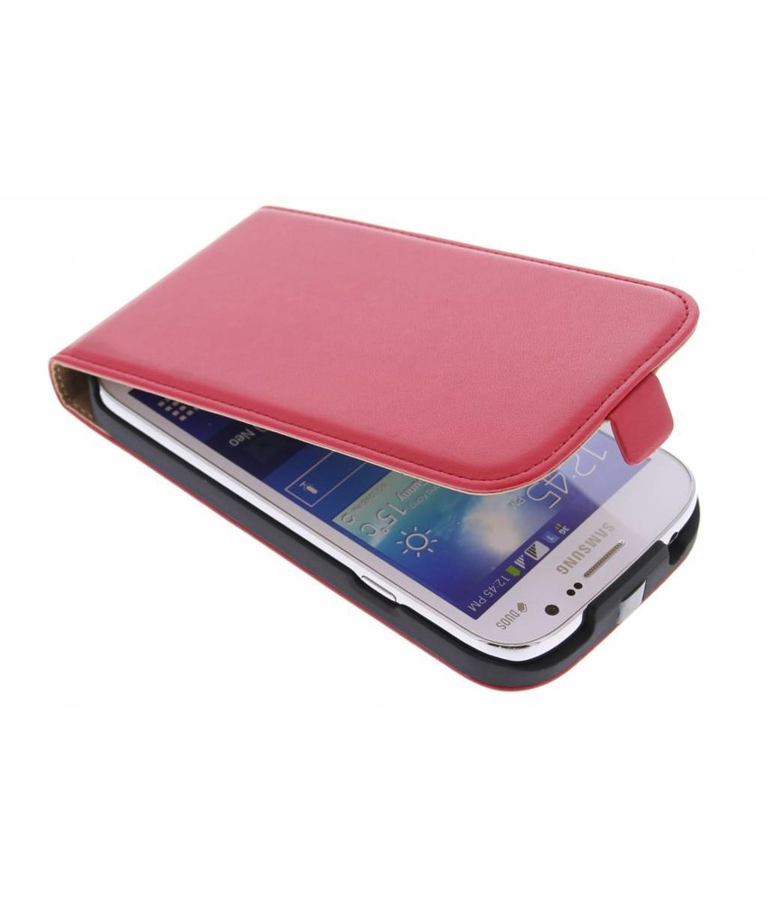 Rood luxe flipcase Samsung Galaxy Grand (Neo)