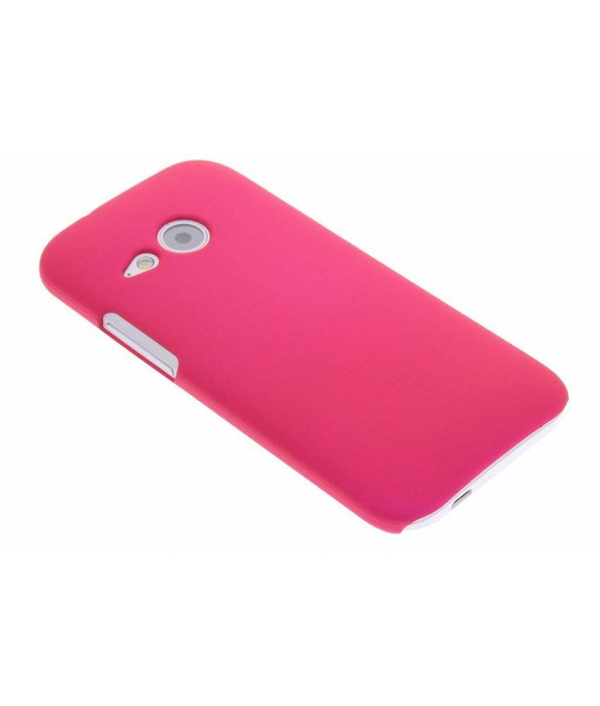 Fuchsia effen hardcase HTC One Mini 2