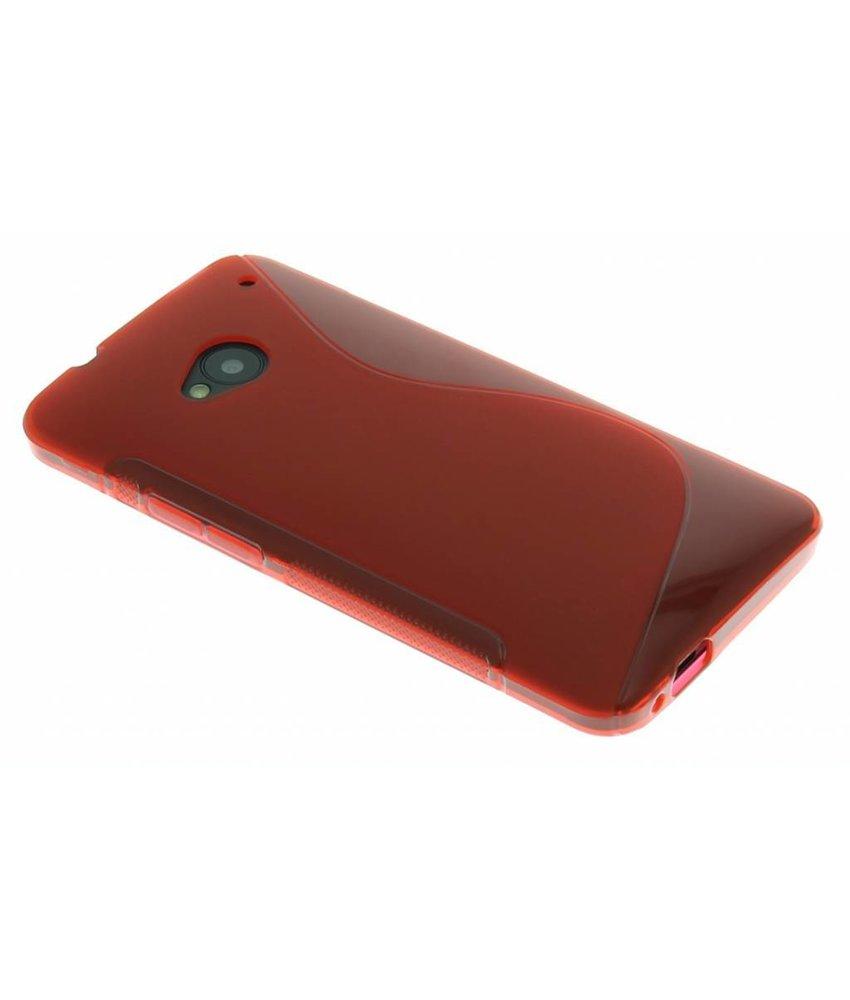 Rood S-line TPU hoesje HTC One