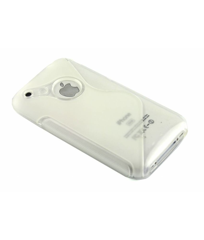 Transparant S-line TPU hoesje iPhone 3g(s)