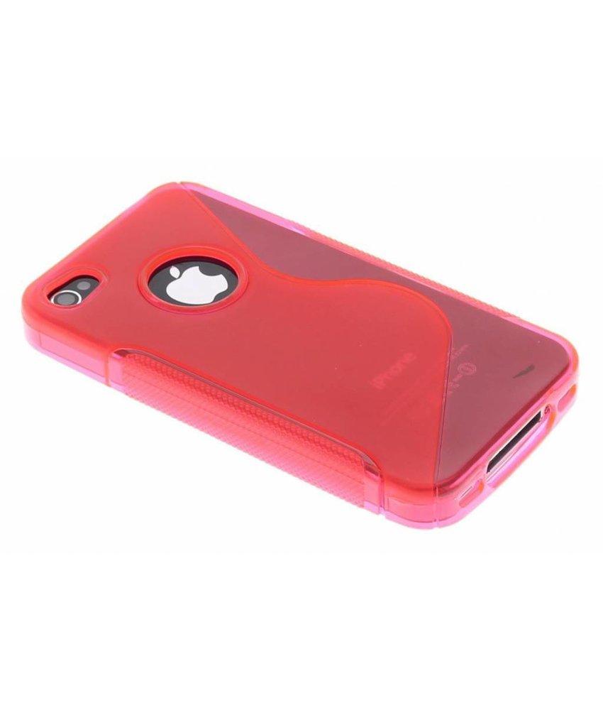 Rosé S-line TPU hoesje iPhone 4 / 4s
