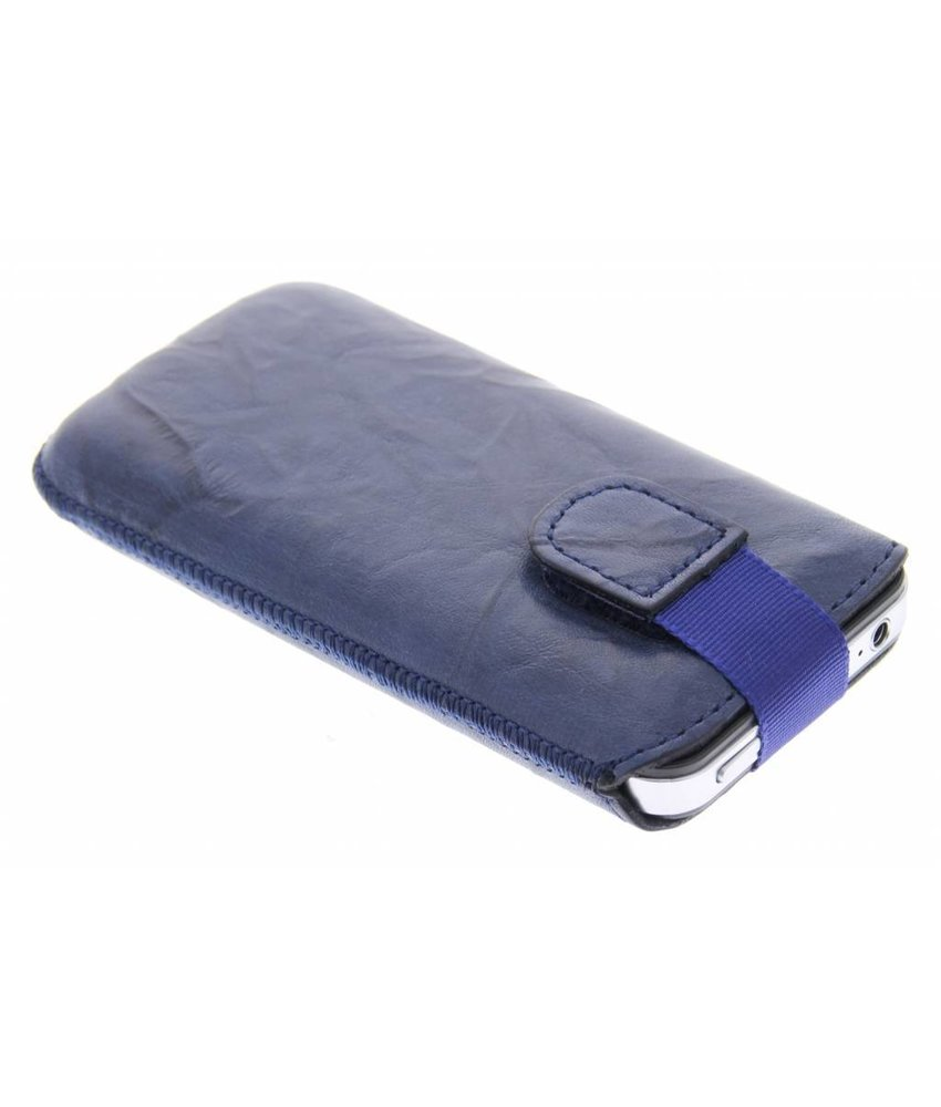 Mobiparts Uni Pouch Smoke maat M - navy blauw