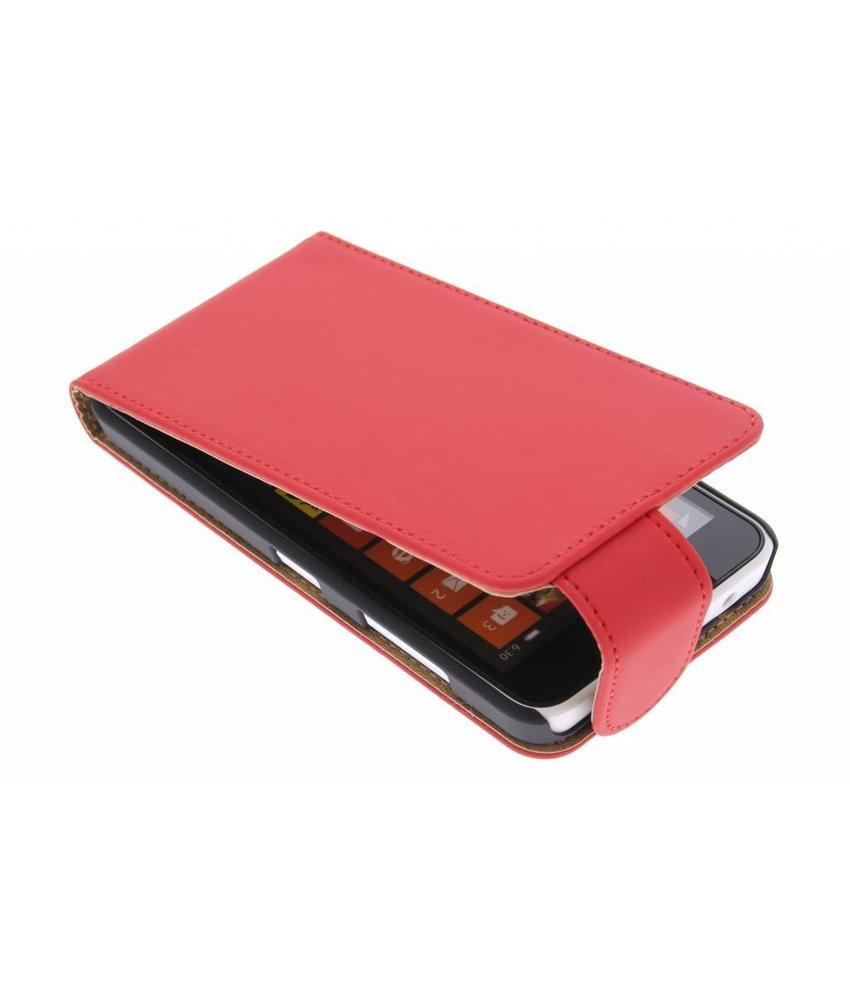 Rood classic flipcase Nokia Lumia 630 / 635