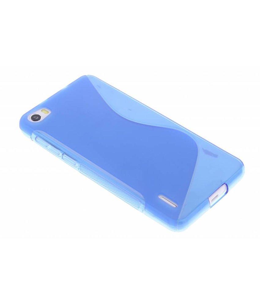 Blauw S-line TPU hoesje Honor 6