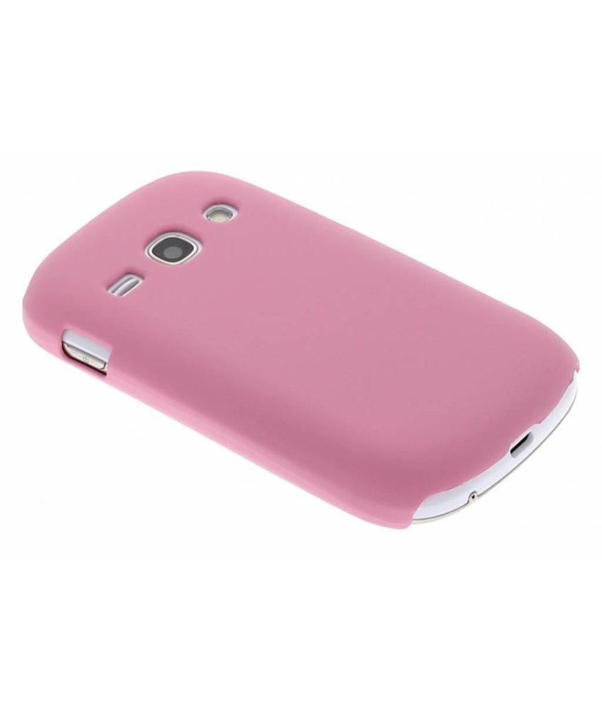 Roze effen hardcase Samsung Galaxy Fame