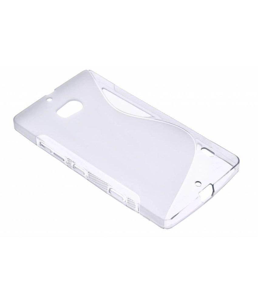 Grijs S-line TPU hoesje Nokia Lumia 930