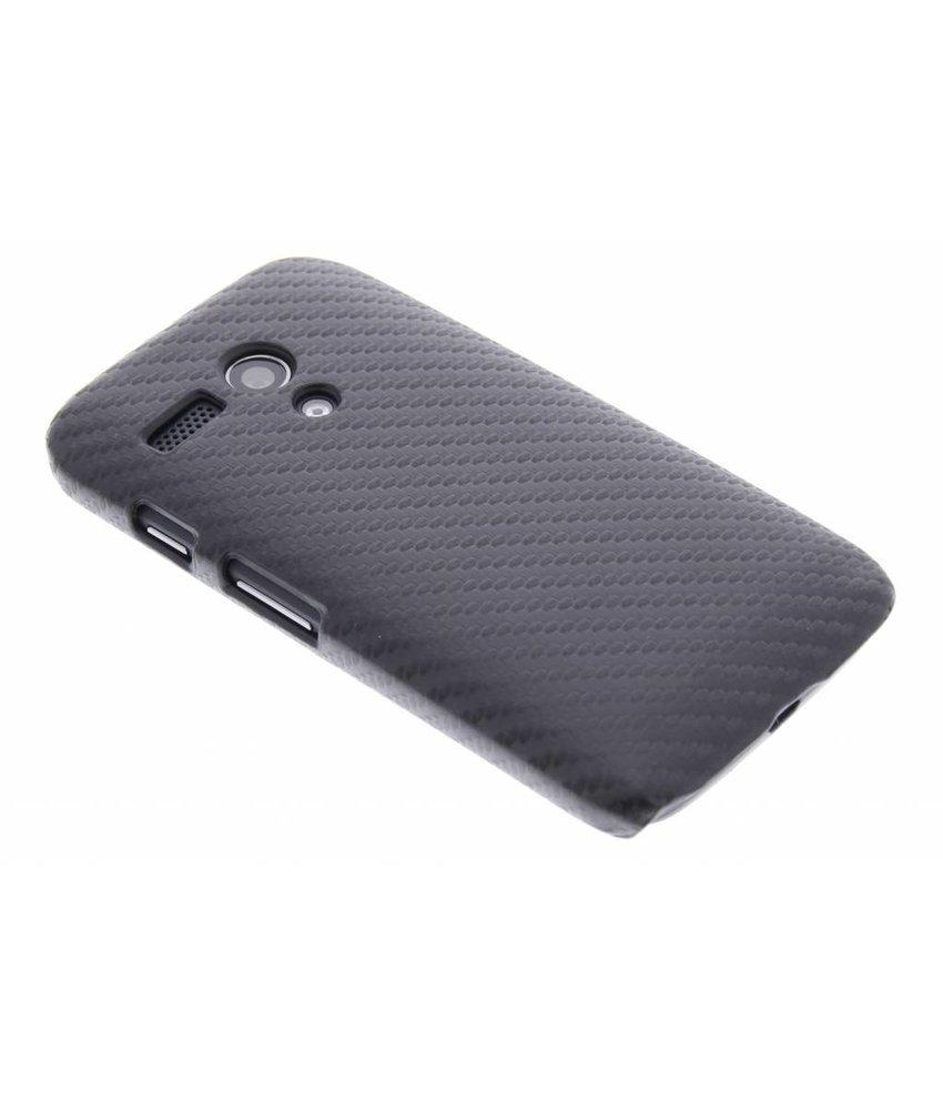 Carbon look hardcase hoesje Motorola Moto G