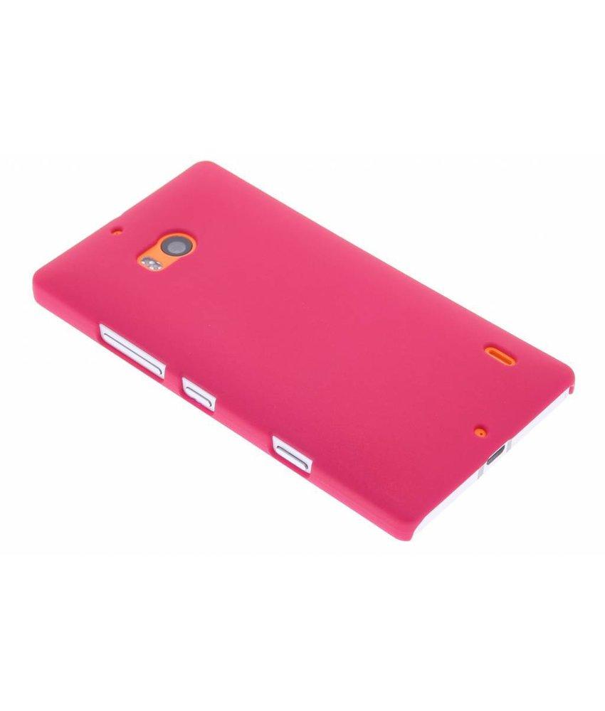 Fuchsia effen hardcase hoesje Nokia Lumia 930