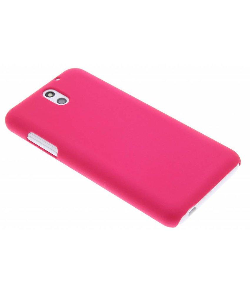 Fuchsia effen hardcase hoesje HTC Desire 610