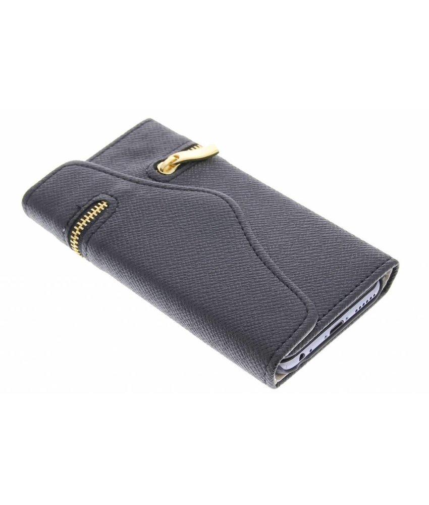 Zwart classic portemonnee hoes iPhone 6 / 6s
