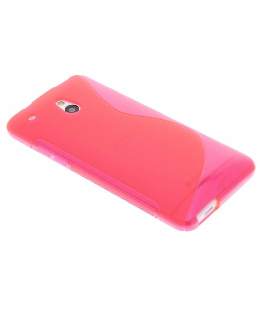 Rosé TPU S-Line hoesje HTC One Mini
