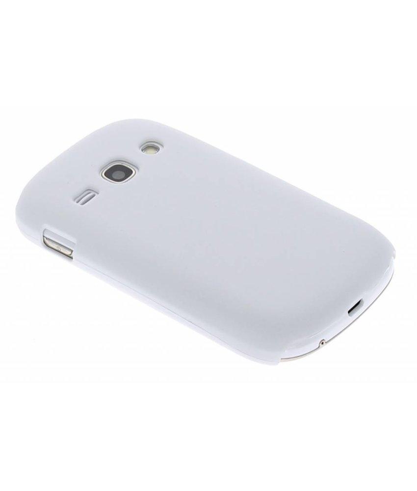 Wit effen hardcase Samsung Galaxy Fame