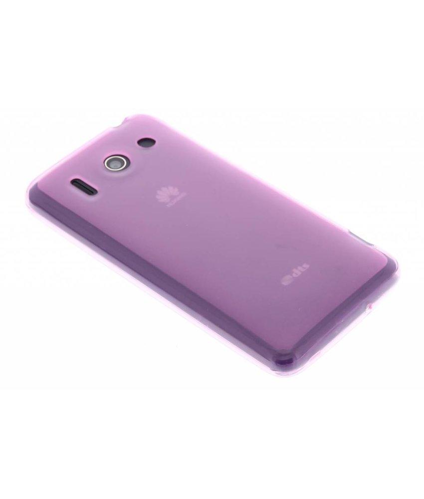 Roze hard siliconen hoesje Huawei Ascend G510